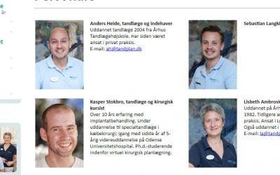 Denti byder Lystrup Tandlægecenter velkommen